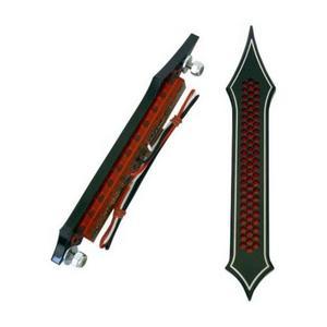 Accutronix BL01-LDN Tribal LED Bag Light - Drilled - Black