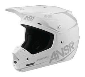 Answer Evolve 3 Solid Helmet (White, XX-Large)