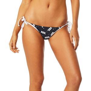 Fox Shred City Tie Womens Bikini Bottom (Black, Large)