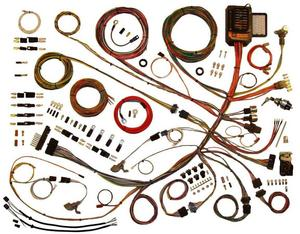 American Autowire Wiring System Ford Truck 1953-56 Kit P/N 510303