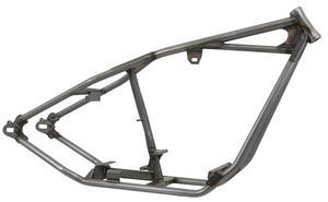 Kraft/Tech K16005 Rigid Straight Backbone Style Frame for Big Twin - 34deg. - 2in. Stretch