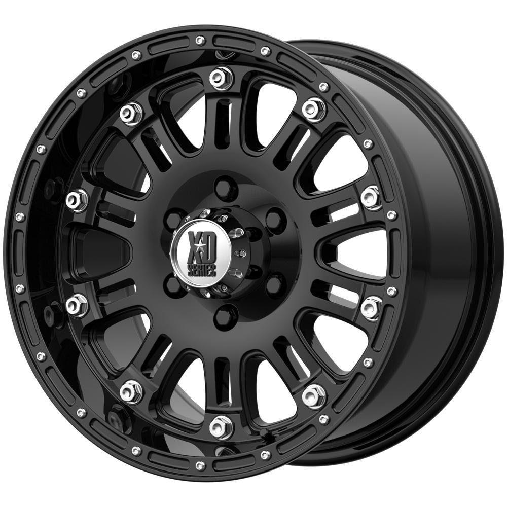 "XD Series XD795 Hoss 17x9 5x5"" +18mm Gloss Black Wheel Rim 17"" Inch"