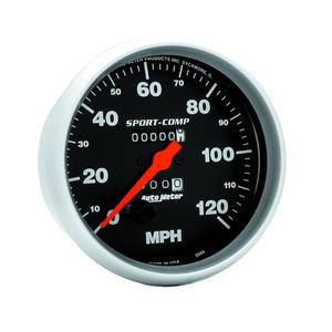 AutoMeter 3994 Sport-Comp In-Dash Mechanical Speedometer
