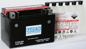 WPS Maintenance Free Sealed AGM Motorcycle Battery CTX9-BS