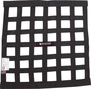 Allstar Performance Window Net 1 In Webbing 18 in Square Black P/N 10280
