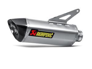 Akrapovic Slip-On Series T/T/T Oval Muffler S-D12SO3-HRT