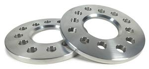 BAER 1 in Thick 5x4.25/4.5/4.75 in Bolt Pattern Wheel Spacer 2 pc P/N 2000014