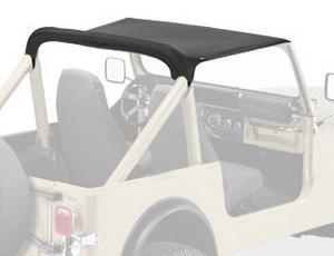 Bestop Strapless Bikini Top 80-86 Jeep CJ7 Black Crush 52518-01
