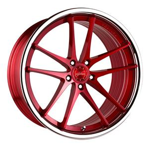 "20"" VERTINI RF1.5 FORGED RED CONCAVE WHEELS RIMS FITS LEXUS LS460 LS600"