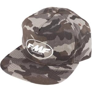 FMF Racing Smooth Hat Brown Camo (Brown, OSFA)