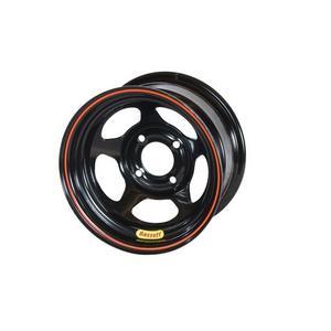 BASSETT Black Steel 13 x 8 in D-Hole Lightweight Wheel P/N 38SH3
