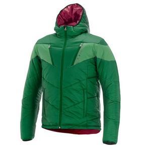 Alpinestars Mack Textile Jacket Amazon Green/Bright Green (Black, X-Large)