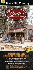 Butler Maps MP-114 G1 Series Map - Texas Hill Country