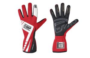 OMP Racing Medium Red Single Layer Driving Gloves P/N IB757ERM