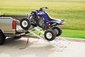 QuadBoss 3775 Aluminum ATV Ramp - Bi-Fold - 44in. W x 71in. L