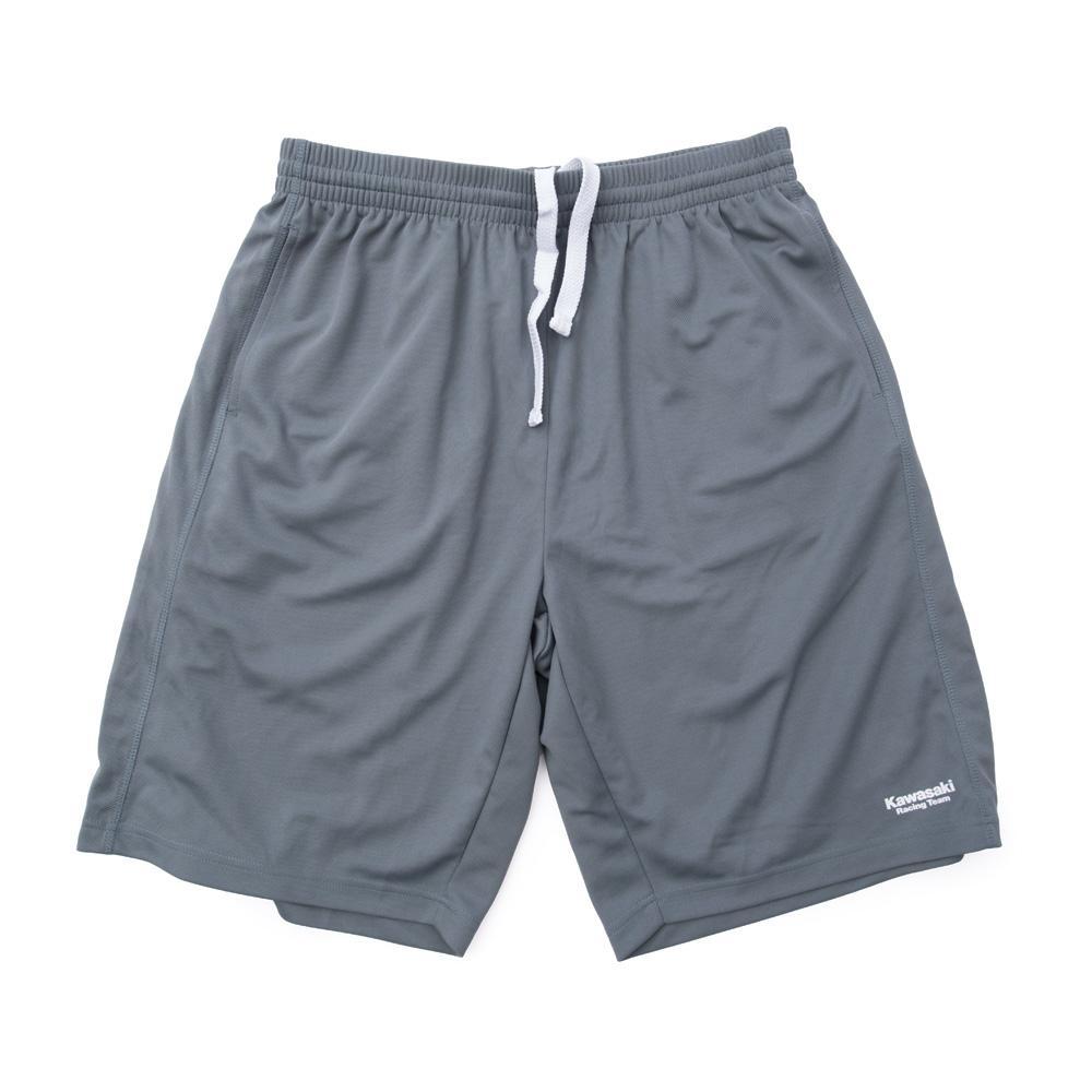 Factory Effex Kawasaki Training Shorts Dark Grey Mens Size MD