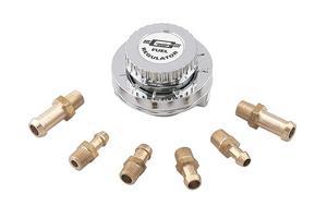 "Mr. Gasket 9710 Fuel Regulator 5/16"" & 3/8"" ID Fuel Line Fittings/Hoses/Clamps"