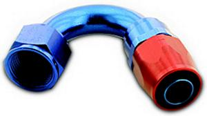 A-1 Products 150 Degree 12 AN Hose to 12 AN Female 200 Series Hose End P/N 01512