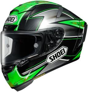 Shoei X-Fourteen Full Face Motorcycle Helmet Laverty TC-4 Adult Size M