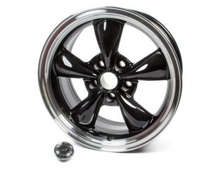 AMERICAN RACING WHEELS Black 5x4.75 17x8 in Torq-Thrust M Wheel P/N AR105M7861B