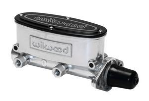 WILWOOD 1-1/8 in Bore Aluminum Tandem Master Cylinder Kit P/N 260-8556-P