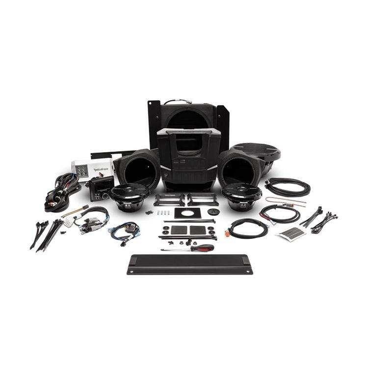 Rockford Fosgate RNGR-STAGE3 400W Stereo, Speaker & Sub Kit - Polaris RANGER