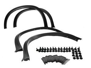 07-13 BMW X5 E70 Arch Extension Fender Flare Aero Diffuser For 20/21 Inch Wheel