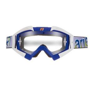 Ariete Riding Crows Basic Collection Goggles Blue/White (Blue, OSFM)
