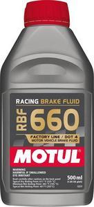 Motul USA DOT 4 Brake Fluid 500ml Each P/N 101667