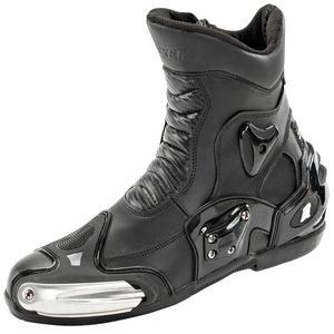 Joe Rocket Superstreet Water Resistant Motorcycle Boots Black Mens Size 9