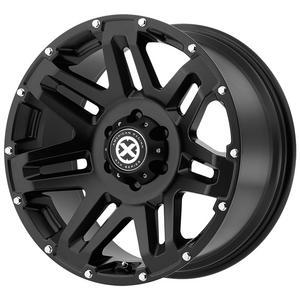 "4-ATX Series AX200 Yukon 17x8.5 8x170 +0mm Black Wheels Rims 17"" Inch"