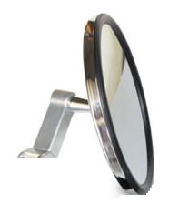 "Axia Alloys UTV ATV 5"" Round Convex Side View Mirror Clear MOD5SM-CLEAR"