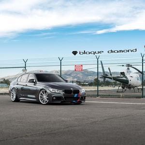 """19"""" BLAQUE DIAMOND BD11 SILVER CONCAVE WHEELS RIMS FITS BMW E89 Z4"""