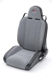 Smittybilt 759130 XRC Performance Seat Cover 07-16 Wrangler JK Gray On Blk Rear