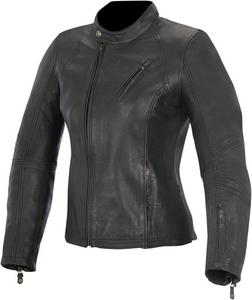 Alpinestars Womens Motorcycle Leather Shelly Jacket Black M