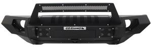 Go Rhino 230115102T BRJ40 Front Replacement Bumper Fits 07-18 Wrangler (JK)