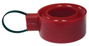 INTEGRA SHOCKS Red 2-1/2-2-5/8 in Spring Soft Hard Spring Rubber P/N 310-30114-1