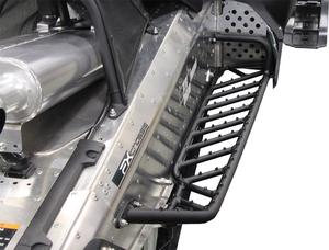Skinz Air-Frame Running Boards Flat Black for Yamaha Nytro MTX 10-14