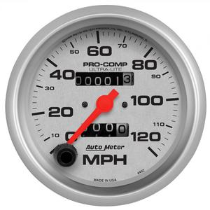 AutoMeter 4492 Ultra-Lite In-Dash Mechanical Speedometer