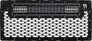 Rigid Industries 40591 LED Grille Fits 07-18 Wrangler (JK)