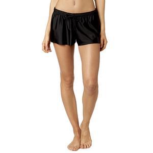 Fox Refraction Womens Shorts (Black, X-Large)