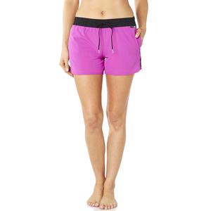 Fox Carving Womens Shorts Berry Punch (Pink, Small)