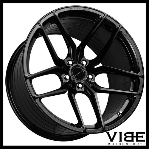 19 Stance Sf03 Gloss Black Forged Concave Wheels Rims Fits Infiniti