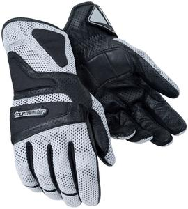 Tourmaster Intake Air Womens Gloves (Silver, Small)