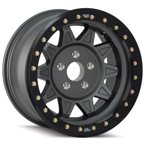 "4-Dirty Life 9302 Roadkill Race 17x9 5x5"" -14mm Matte Black Wheels Rims 17"" Inch"