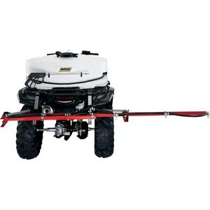 Moose Utility 4503-0074 140in. Sprayer Boom with Quick Disconnect Fittings - 7 Nozzel