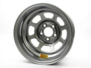 AERO RACE WHEELS 52-Series 15x8 in 5x5.00 Silver Wheel P/N 52-085020