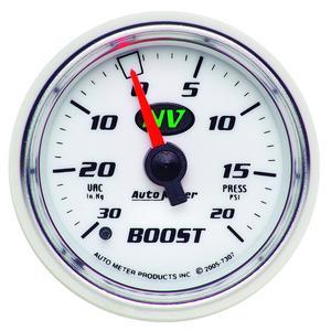 AutoMeter 7307 NV Mechanical Boost/Vacuum Gauge