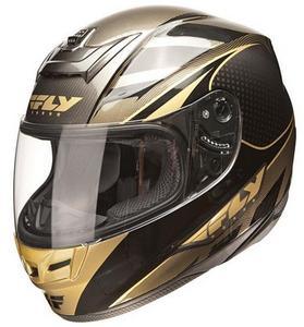 Fly Racing 73-8844 Vent Kit for Paradigm Helmet - Classic Black/Gold