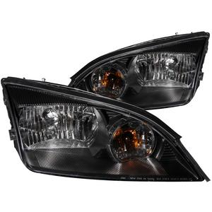 Anzo USA 121229 Crystal Headlight Set Fits 05-06 Focus